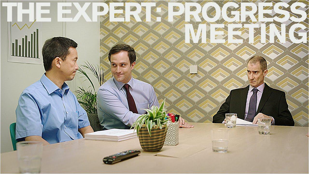 Download The Expert: Progress Meeting (Short Comedy Sketch)