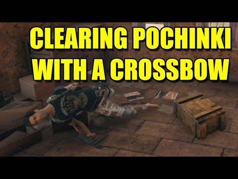 Clearing Pochinki with a Crossbow