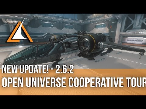 Star Citizen - 2.6.2 - GAME UPDATE! Cooperative Tour