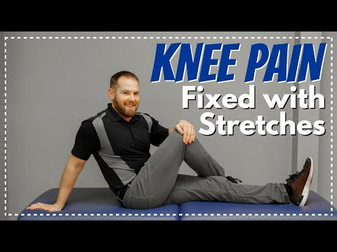Knee Pain from IT Band Syndrome, Fix with These 3 Stretches/Treatment