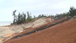 Tin tức 24h Mới Nhất Hôm Nay :  Sạt lở đê biển nghiêm trọng ảnh hưởng đời sống người dân ở Quảng Trị