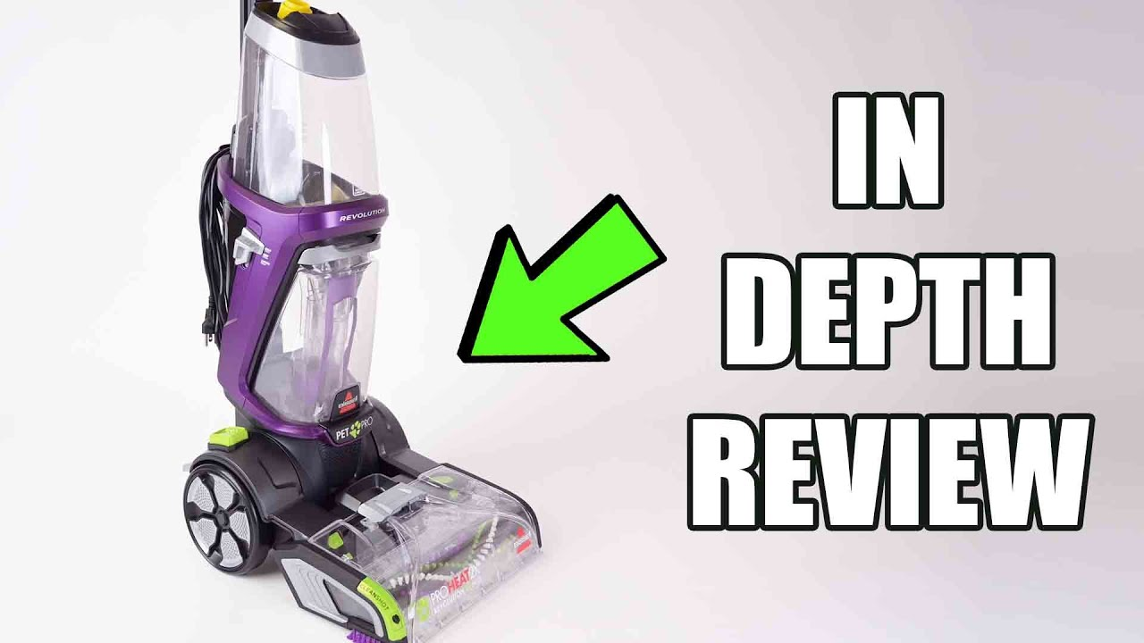 Bis Proheat 2x Revolution Pet Pro Carpet Cleaner 1986 Review