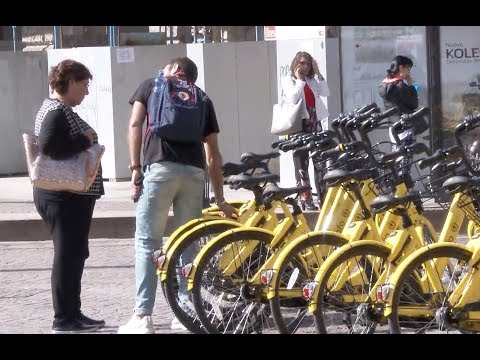 Chinese Shared Bikes Receive Warm Welcome in Italy