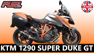 KTM 1290 Superduke GT fitted with Fuel Ceramic Black Diablo Exhaust