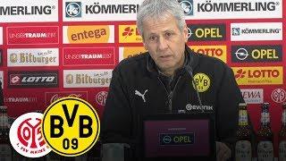 HAMMER-Tor von Piszczek! | PK mit Lucien Favre | 1. FSV Mainz 05 - BVB 1:2