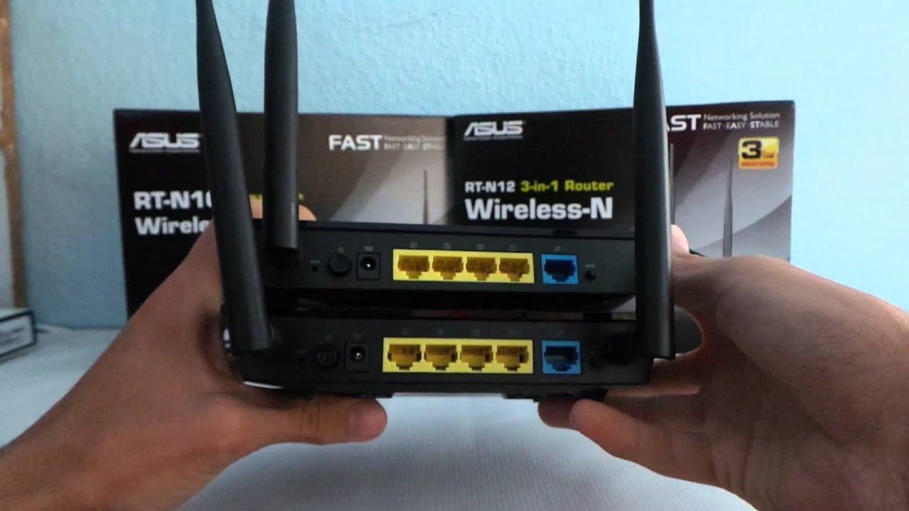 Hoe de nieuwe Firmware-router ASUS RT-N12 te installeren