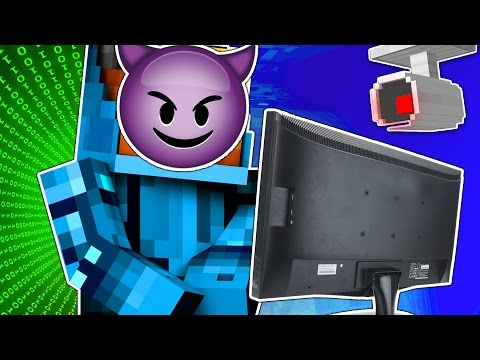 Minecraft | TRUEMU HACKS YOUR EMAILS! | The Heist #2 Hacking Roleplay Adventure w/ TrueMU