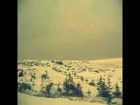 the frozen Hudson Bay
