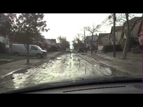 Far Rockaway after Sandy hurricane