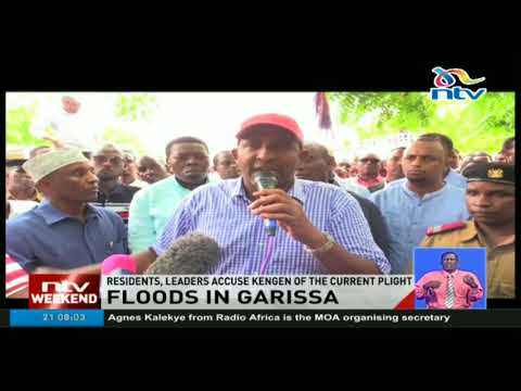 Garissa leaders, residents accuse KenGen of the current flight