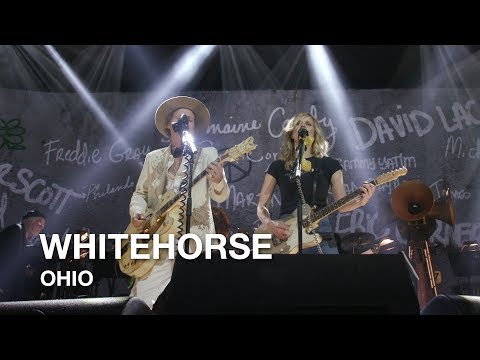 "Whitehorse covers ""Ohio"" by Neil Young"