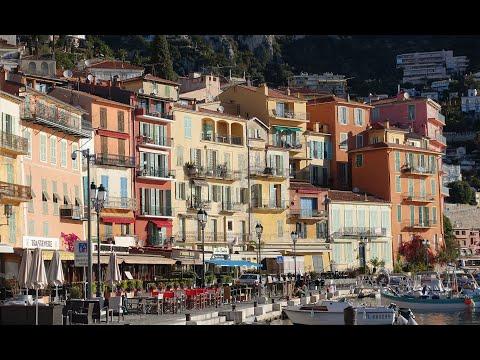Le vieux village de Villefranche sur Mer