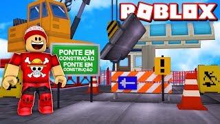 BUILDING a TOLL BRIDGE at ROBLOX - Toll Bridge Simulator 🎮