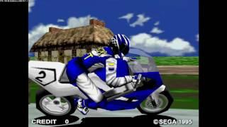 Sega Manx TT Superbike - Arcade Version in attract mode   1080 60fps