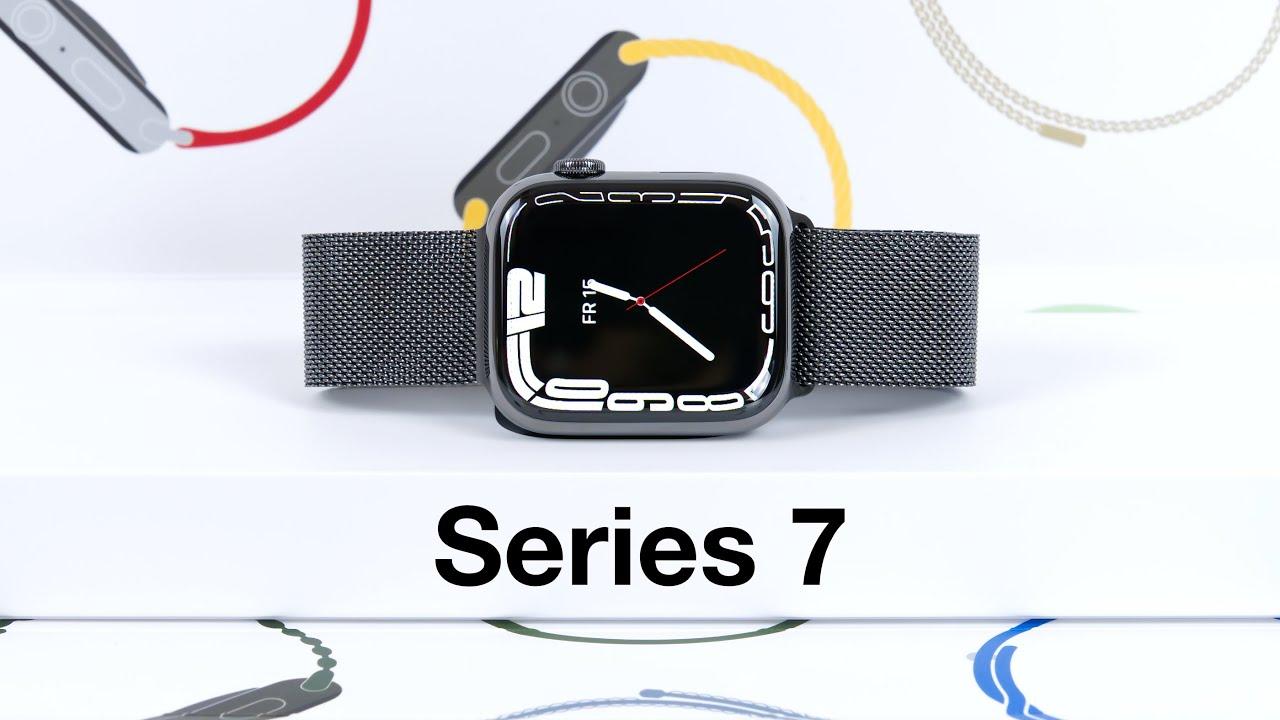 Download Apple Watch Series 7 Unboxing & erster Eindruck   Was hat sich verändert? (45mm, Edelstahl Graphit)