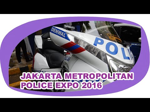 👮 Jakarta Metropolitan Police Expo 2016