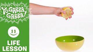 Learn With Plex - Making Lemonade - Yo Gabba Gabba!
