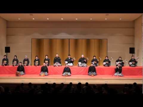 Japanese Nagauta Music = OIMATSU #1 = 杵家会徳島支部 長唄「老松」1