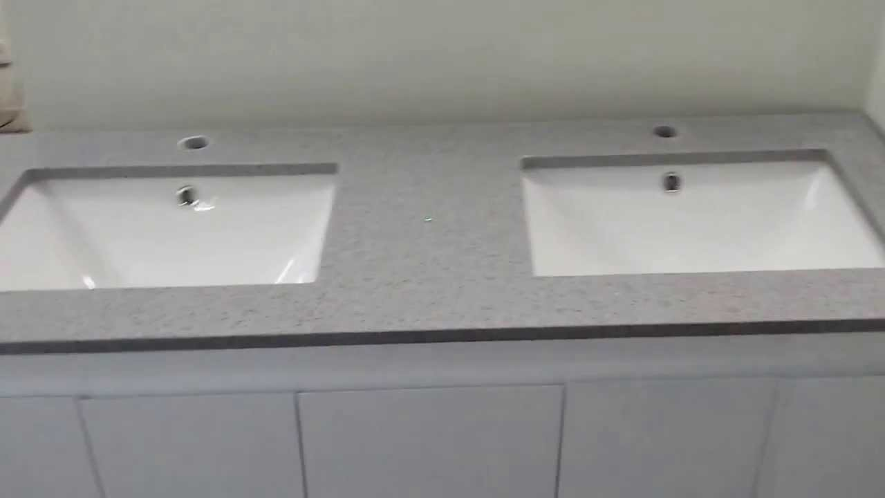 Buy Bathroom Caesarstone Vanity Melbourne Grey 1200 1500 Or 1800 Mm Youtube