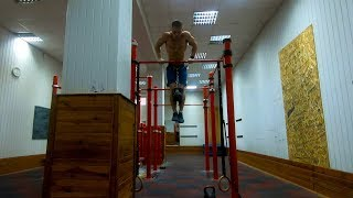 11 Muscle ups + 16 kg