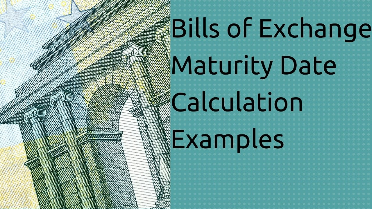 Bills of Exchange in Accounting