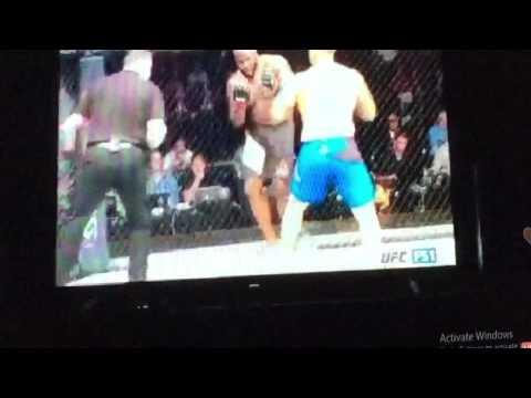 UFC FightNight Hunt Vs Lewis Finish Replay