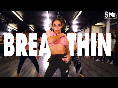 Ariana Grande - BREATHIN | Street Dance | Choreography Sabrina Lonis