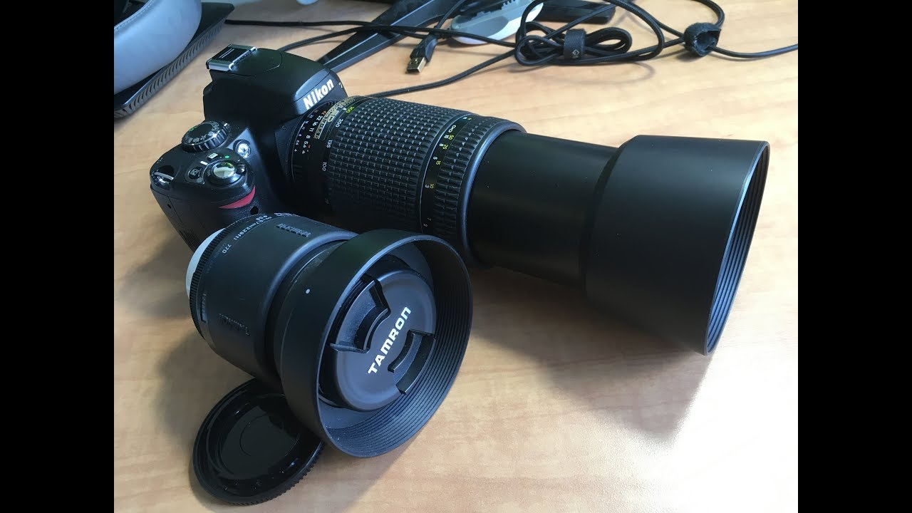 New Camera Stop Motion Zoom Test Nikon Coolpix P7700 Vs Nikon D40 Youtube