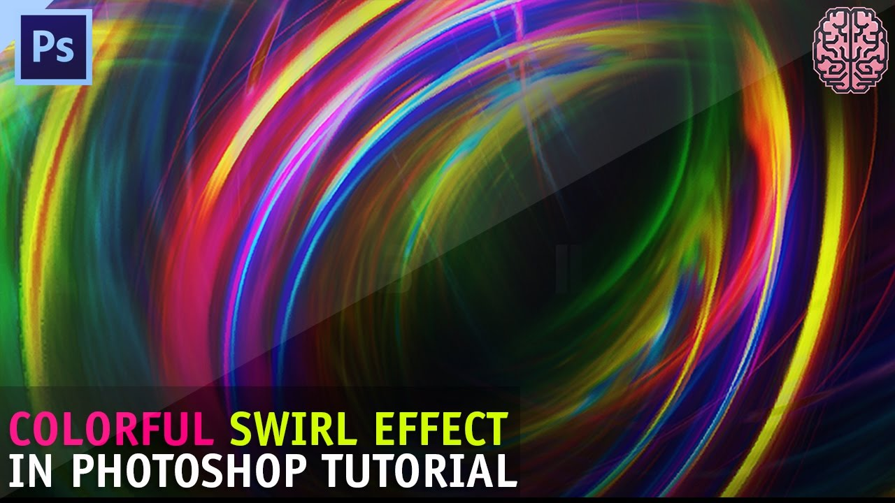 Tutorial: Creating Colorful Swirls in Photoshop by Qehzy