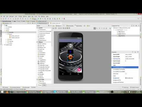 Music App in Android Studio With Options Of Play, Stop, Pause Tutorial 13 Urdu - Hindi