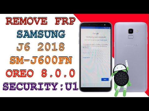 FRP J600FN U1 / REMOVE FRP SAMSUNG J6 2018 / SM-J600FN / ANDROID