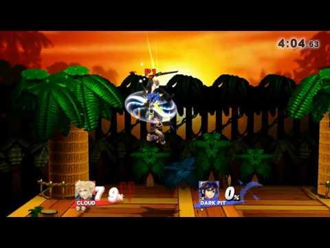 Super Smash Bros. for Wii U Galaxy~• Cloud vs Dark pit