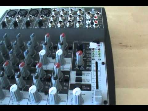 behringer xenyx 1202fx mixer review part 1 2 youtube. Black Bedroom Furniture Sets. Home Design Ideas