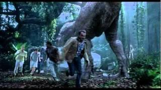 Jurassic Park 3 T-Rex vs Spinosaurus