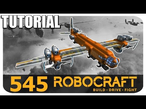 Robocraft Tutorial - Tier 10 Plasma Bomber - Let's Build