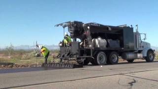 Recycled Asphalt Slurry Seal (RASS) by Sully-Miller Contracting Co.