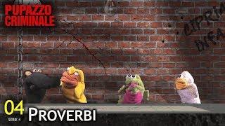"""Lillo e Greg - Pupazzo criminale 53 - S4/04 - """"Proverbi"""""""