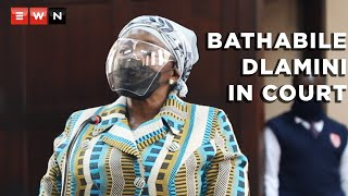 Former Minister of Social Development and president of the ANCWL Bathabile Dlamini appeared at the Johannesburg Magistrates Court on 21 September 2021. Dlamini's appearance is in connection with a perjury charge related to the social grants payments fiasco in 2017.