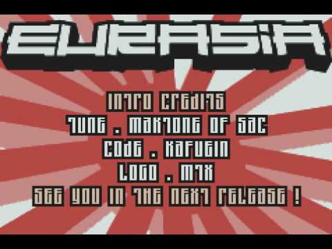 EURASIA  - Generation Advance - GBA Cracktro / Crack Intro ( GAMEBOY ADVANCE)
