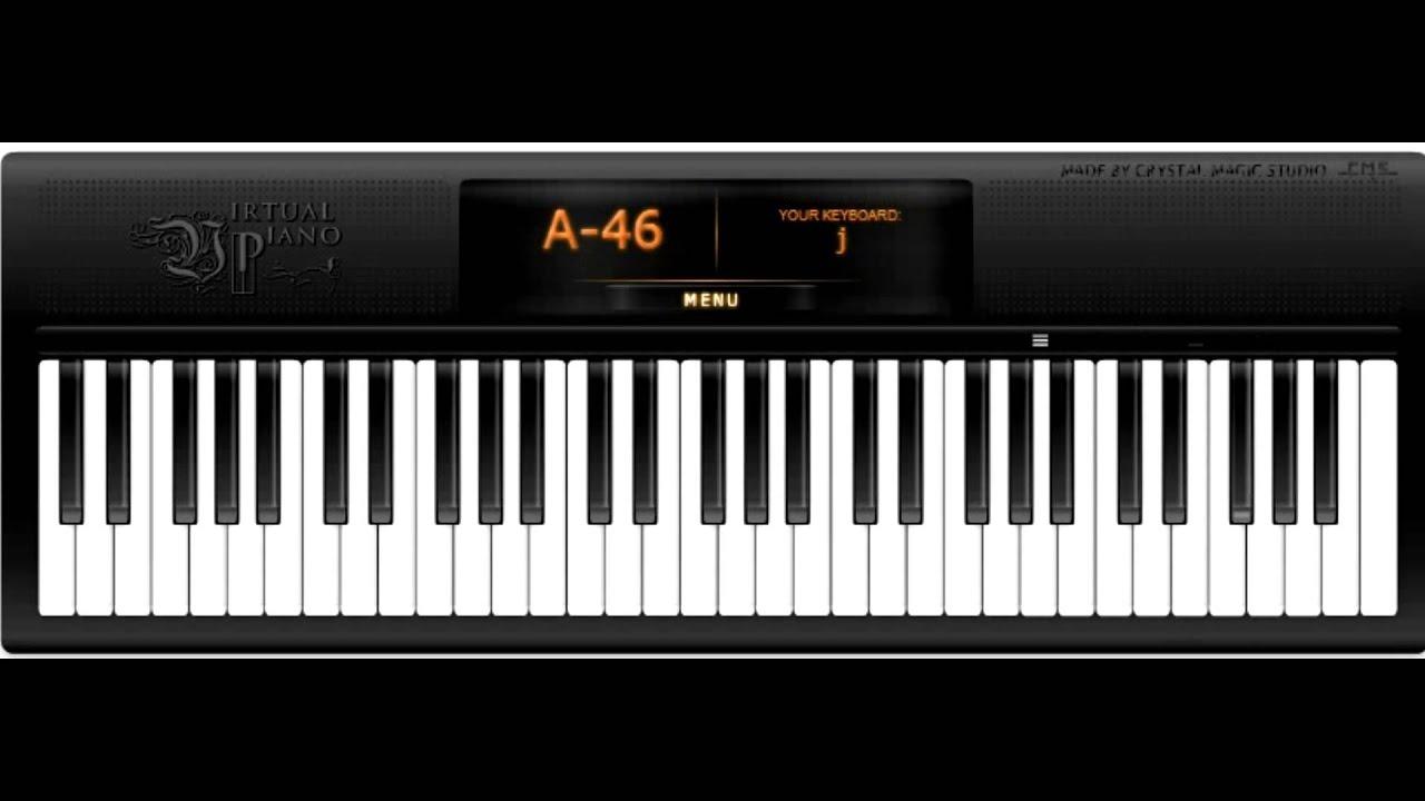OMFG - Hello (Virtual Piano)