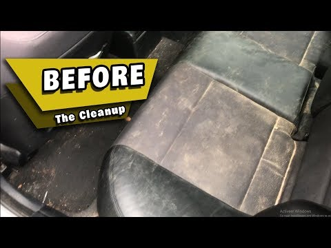 Cleaning The Dirtiest Car EVER! BMW 3 Series Interior + Exterior