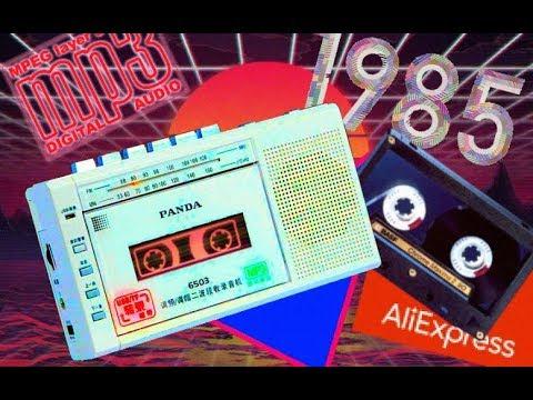 Кассетный Mp3 плеер с AliExpress Panda 6503 / Cassette Mp3 Recorder Player