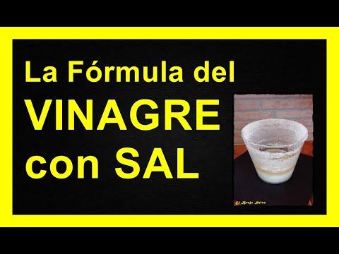 La Fórmula de la Sal y el Vinagre