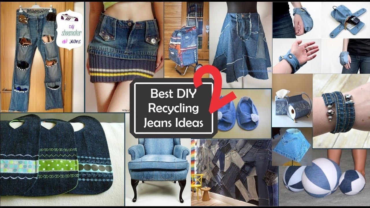 0ce37eda5e Ideas increíbles sobre Reciclar jeans viejos 2 Best DIY Recycling jeans  ideas 2