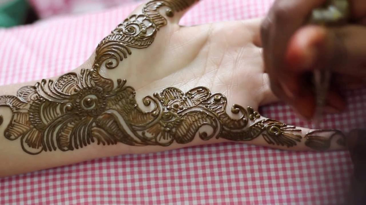 Mehndi Bridal Mehndi Design : New classic bridal mehndi henna designs for hands traditional
