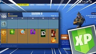 BE PALIER 100 IN 5 MINUTES ON FORTNITE! (XP GLITCH)