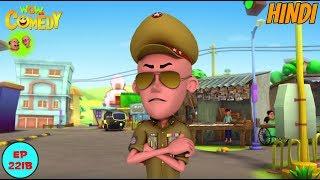 Inspector Patlu - Motu Patlu in Hindi - 3D Animated cartoon series for kids - As on Nick