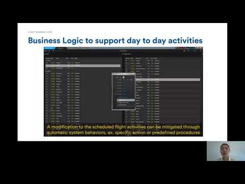 Flight Business Logic (FBL): Operations automation with flight and gate information