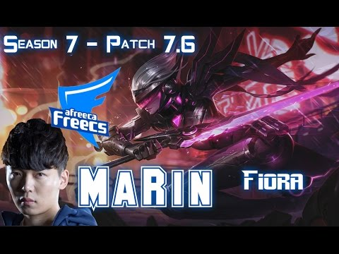 AFs MaRin FIORA vs PANTHEON Top - Patch 7.6 KR Ranked