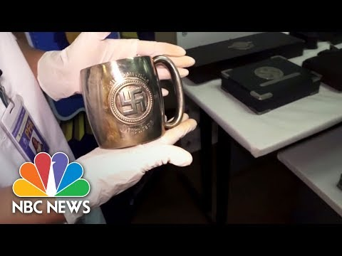 Thumbnail: Disturbing Collection Of Nazi Artifacts Discovered In Secret Room | NBC News